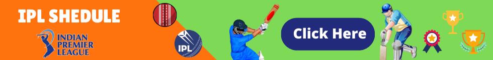 IPL Shedule