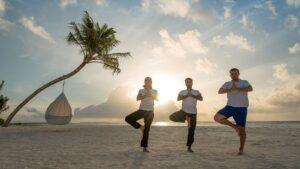 Hideaway Maldives yoga 74