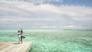 Maldives luxury yoga retreats Four Seasons Maldives Landaa Giraavaru