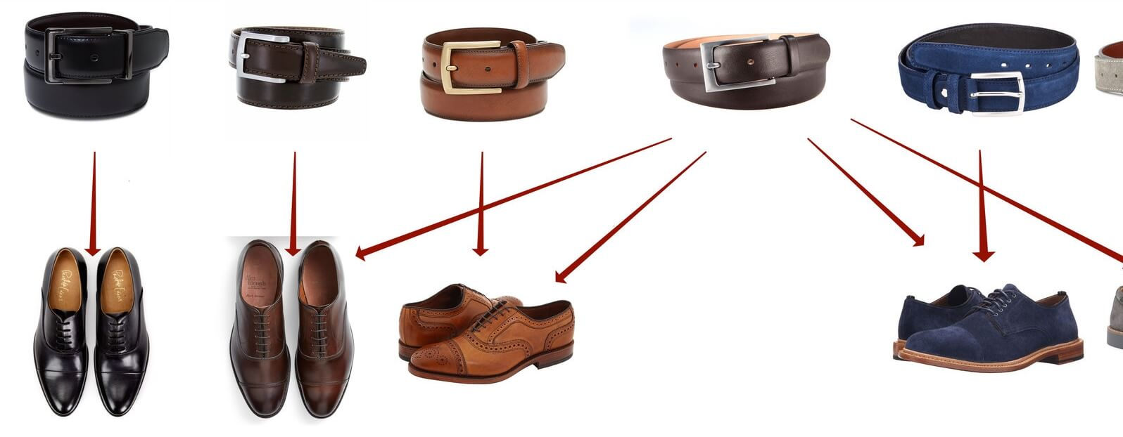 Match Your Belt to Your Shoes